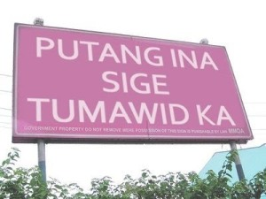 MMDA Says Bawal Tumawid