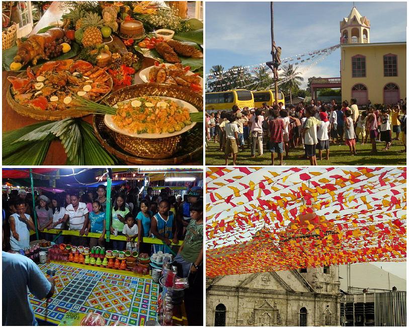 ang pagdiwang ng fiesta sa amin Sa panahon ng pagdiriwang sa songkran festival - tradisyonal na kapistahang  pambagong-taon ng thailand, dumalo kahapon ang mga tao.