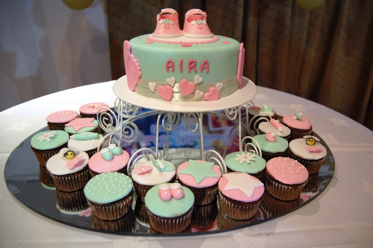Goldilocks Cake Design For Christening : Baby Aira s Christening