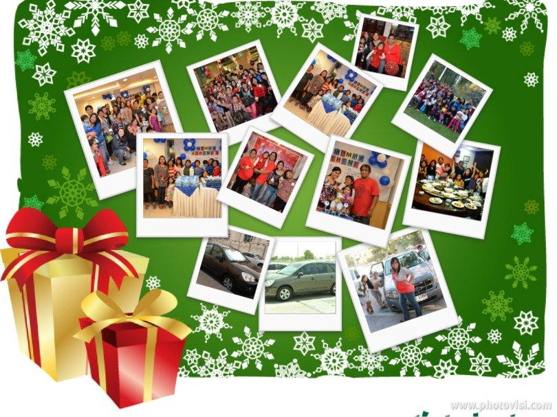 christmas collage - Christmas Photo Collage