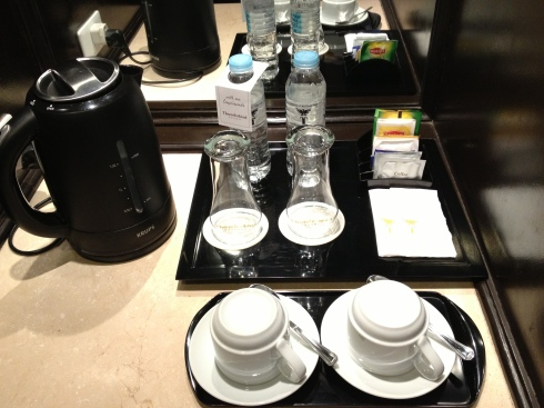 Coffe making facilities